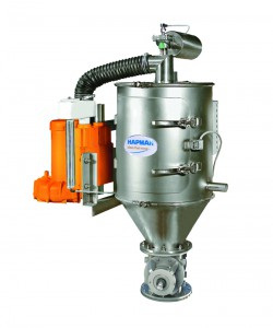 Vacuum Conveyor Model 20 with Orange Blower and  Rotary Valve